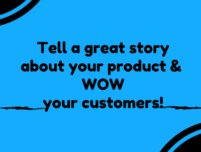 Tell a story of your brand using creative graphics and design thinking in 2 days.