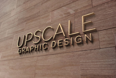 Design a professional typeface logo
