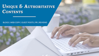 Write authoritative technology blog or guest post of 1000 words