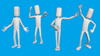 Illustrate your PowerPoint Presentation with 3D Character Poses