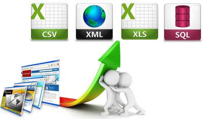 Do web scraping, data mining, data extraction from any website