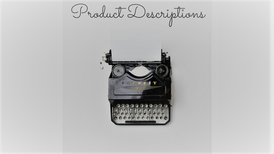 Write 100 Product Descriptions for your Website