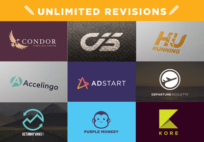 Design a perfect bespoke logo with Unlimited revisions