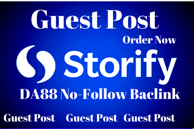 Write and publish guest post on Storify  DA88 with Nofollow link