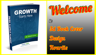 Design your 3d book cover professionally 12 hours or less.