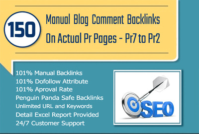 Post 150 HIGH TF CF DA PA Blog Comments Backlinks on ACTUAL PAGES, not DOMAINS