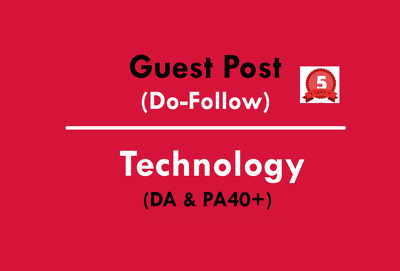 Publish a Guest Post on Technology website DA40 (Do-Follow)