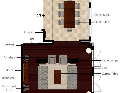 Convert your hand-sketch/ 3D model (with measurements) into 2D floorplan.