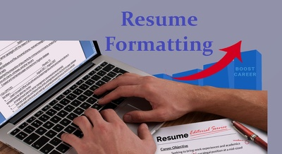 Do Resume Formatting & Resume Processing