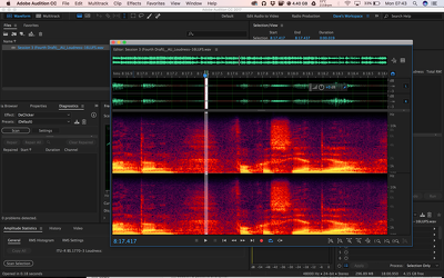 Edit your audio and reduce background noise (up to 45 mins of audio)