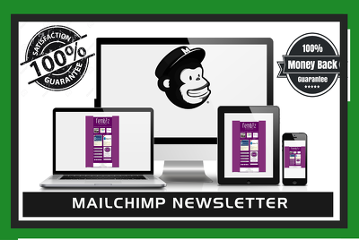 Design  an Editable  Mailchimp Newsletter