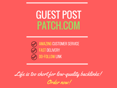 Add a guest post on Patch.com