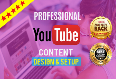 Setup and design your youtube channel professionally