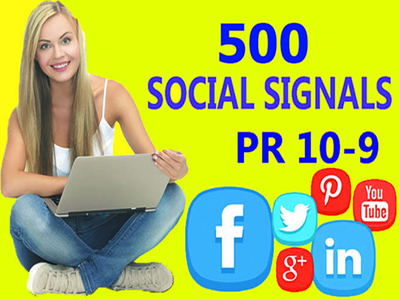 Do SEO Campaign with most well known Social Signals