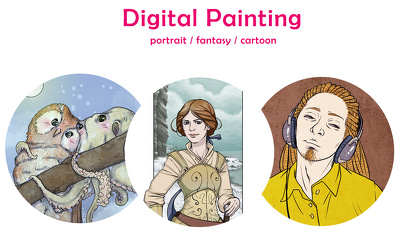 Create an Illustration based on your Portrait or any other Character