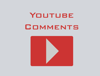 Proviede You 20 Youtube Comments