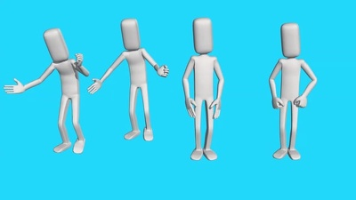 Animate a 3D Stlylized Character For Motion Dance In Your Video