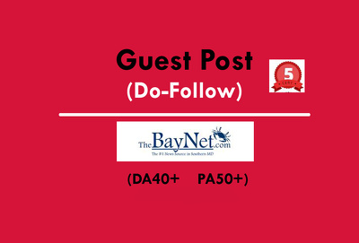 Publish a Guest Post on thebaynet / thebaynet.com (Do-Follow)
