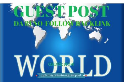 Write and Publish Guest Post on WorldNews (WN). WN.com - DA 81