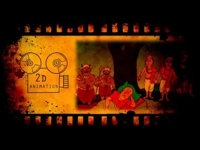 Create 2D Animation for kid's rhymes duration less than 2 minute