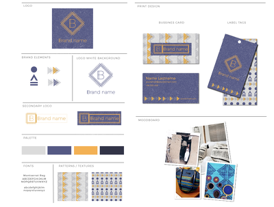 Design your BRAND IDENTITY including the style guide