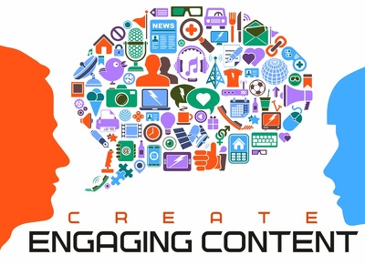 Produce engaging content for your web design agency