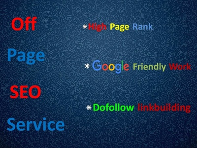 Provide OFF-PAGE SEO
