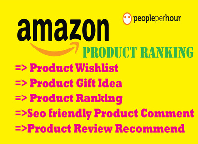 Do 400 Wishlist for amazon product ranking (Amazon TOS Friendly)