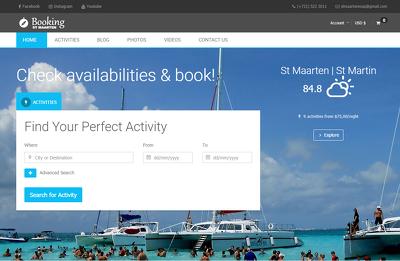 Build a Travel Booking Website (hotel, activities, car rental...)
