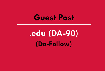 Publish Guest post article on edu/education site DA 90 (Do-Follow Link)