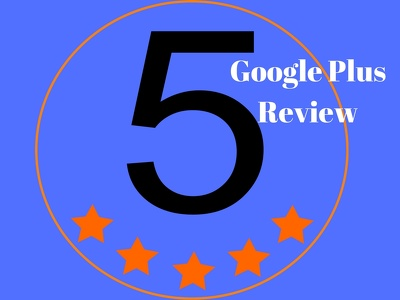 Post Google Plus 5 Star Review on your google+ pages to boost your ranking