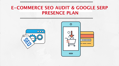 SEO audit & Google SERP presence plan for your online store