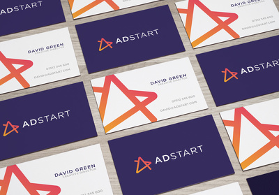 Design your double sided business cards ( supplied in a print ready format )
