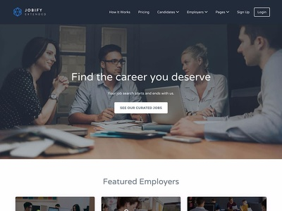 Develop Wordpress Job Board website with premium theme Jobify