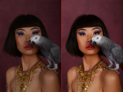 Professional photo retouching (2 images)