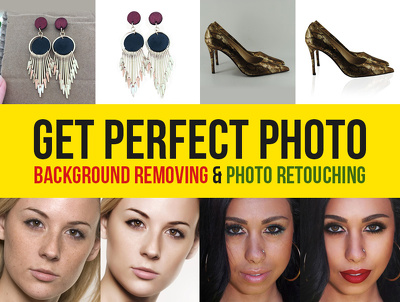Brilliant 25 Image Editing, Background Removal/Cut, Image Retouch and Other Photoshop