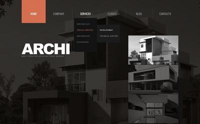 Develop an Architectural Firm website