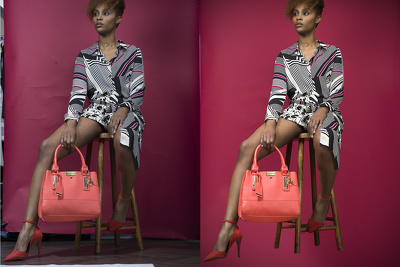 Professionally retouch five images for you