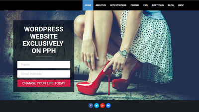 Build full Wordpress Website or eCommerce Website