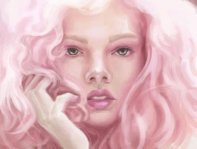 Create a colour sketch illustration
