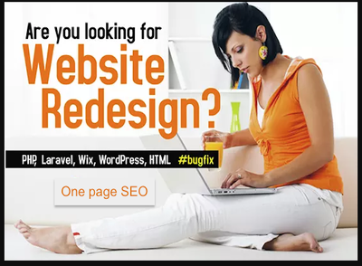 Develop And Redesign Your Website