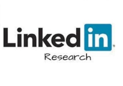 Do LinkedIn Research in 3 hours (Find Key contact person information)