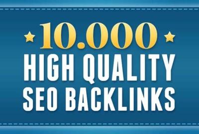 Build 10,000 SEO Backlinks For Google Ranking