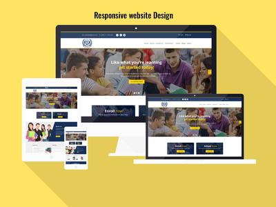 Design a attractive PSD mockup for your website