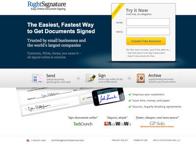 Create a highly converting lead page