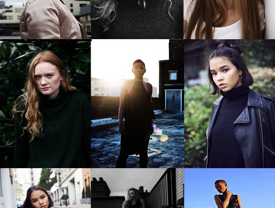 Update your Modelling/ Beauty/ Styling / Acting/ Creative  Portfolio