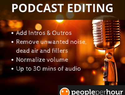 Proficiently edit and master your podcast or audio book