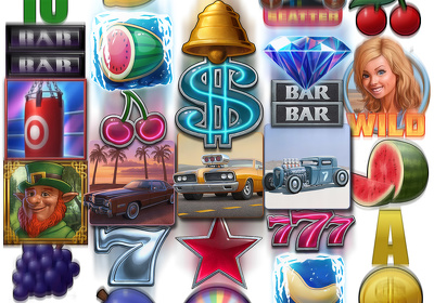Create slot games graphics asset