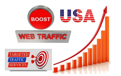 Generate Unlimited USA Targeted Real Human Traffic to Your Website