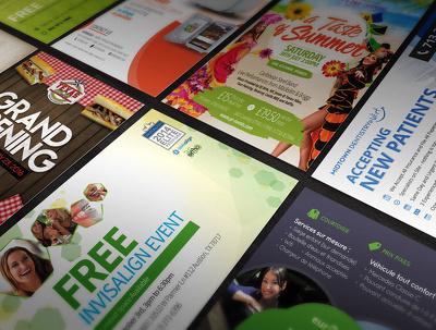 Design you a UNIQUE poster, card, flyer